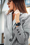 """Женский брючный костюм """"гусиная лапка"""": пиджак и брюки (в расцветках), фото 6"""