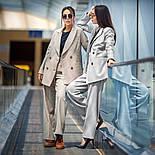 """Женский брючный костюм """"гусиная лапка"""": пиджак и брюки (в расцветках), фото 7"""
