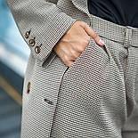 """Женский брючный костюм """"гусиная лапка"""": пиджак и брюки (в расцветках), фото 10"""