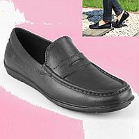 Женские мокасины. Непромокаемая защитная женская обувь. Туфли рабочие, спецобувь.