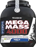 Гейнер WEIDER NEW FORMULA MEGA MASS 4000 3 kg Vanilla