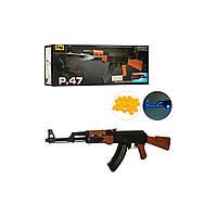 """Автомат пневматический """"AK-47"""" CYMA P.47 на пульках, фото 1"""