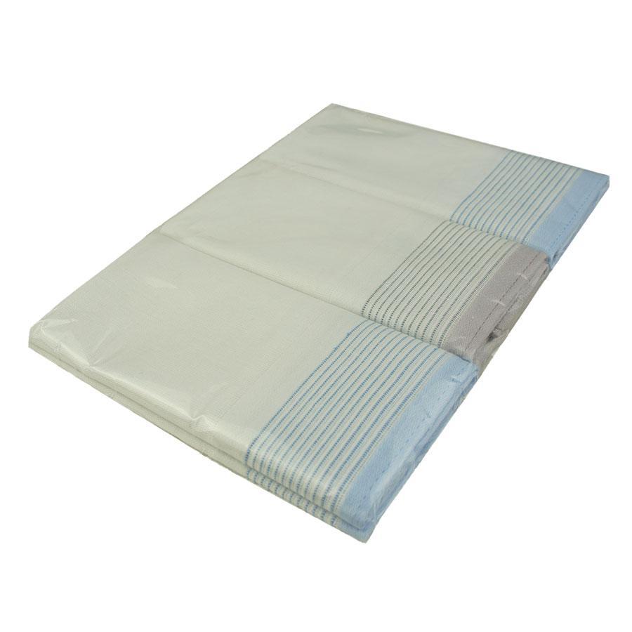 Набір носових хусток для чоловіків у світлому тоні Ega 3 шт СН-727/3 С