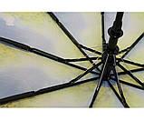 Женский зонт автомат Calm Rain  осень а490/3, фото 4