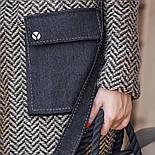 Женский стильный кардиган с поясом и карманами (в расцветках), фото 4