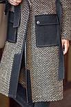 Женский стильный кардиган с поясом и карманами (в расцветках), фото 6