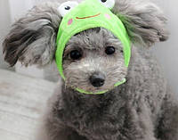 Шапка для собак «Жабка», размер M