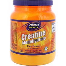 "Креатин моногидрат NOW Foods, Sports ""Creatine Monohydrate"" Pure Powder, в порошке (1 кг)"