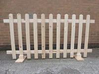 Деревянный забор декоративный разборной LNK, фото 1