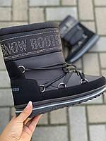 Дутики женские на шнурках Прогресс, фото 1