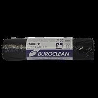 Пакеты для мусора Buroclean EcoStandart 160 л 10 шт чёрные