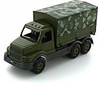 """Игрушка Polesie """"Сталкер"""", автомобиль бортовой тентовый военный (РБ) (49193)"""