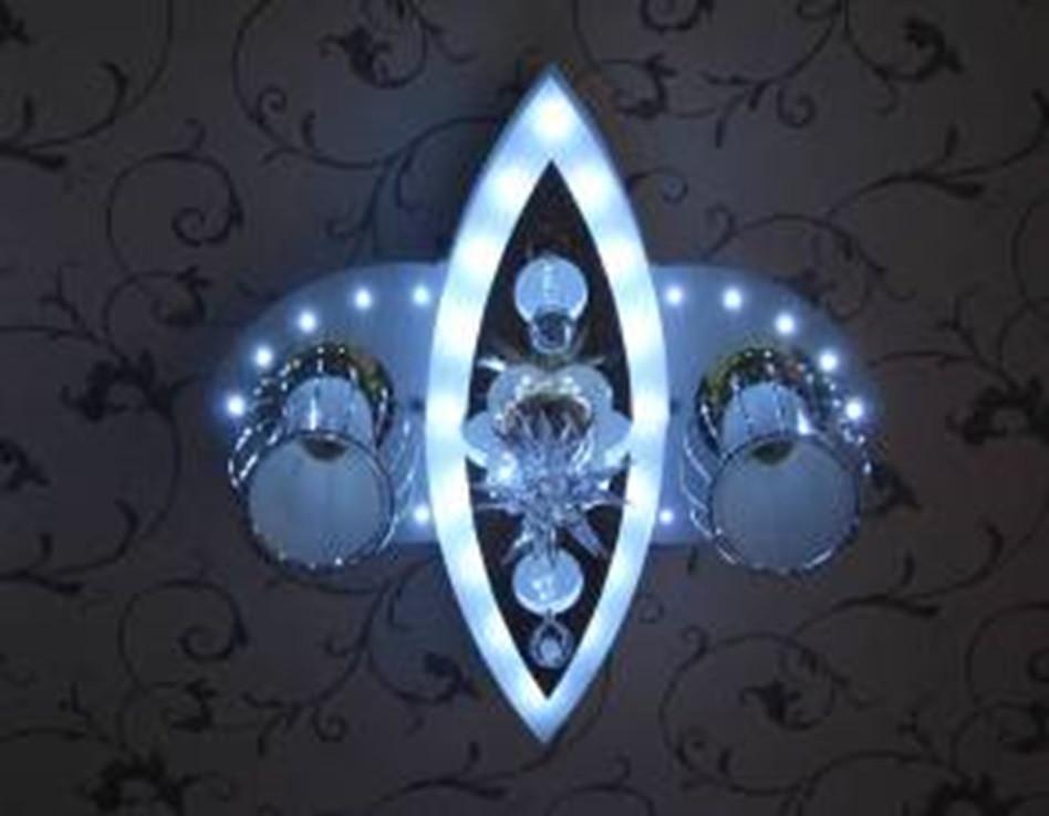 Люстра светодиодная на пульте 75005-2+1A, фото 1