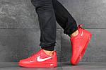 Мужские кроссовки Nike Air Force 1 (красные), фото 5