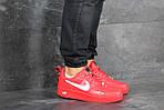 Мужские кроссовки Nike Air Force 1 (красные), фото 6