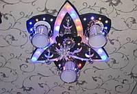 Люстра светодиодная на пульте 75005-3+1A