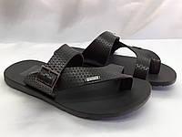 Стильные кожаные сандалии-шлёпанцы Bertoni, фото 1