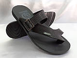 Стильные кожаные сандалии-шлёпанцы Bertoni, фото 2