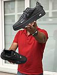 Мужские кроссовки Nike Air Force 1 (серые), фото 4