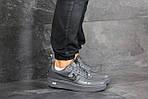 Мужские кроссовки Nike Air Force 1 (серые), фото 6