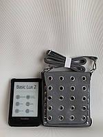 Серая маленькая женская мини-сумочка клатч с плечевым ремешком Одесса 7км, фото 1