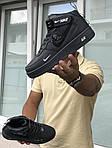Мужские кроссовки Nike Air Force 1 (серые), фото 2