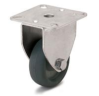 Колесо с неповоротным кронштейном, диаметр 50 мм, нагрузка 40 кг