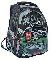 Рюкзак школьный ортопедический для мальчиков 1, 2, 3, 4 класс, портфель, ранец. Черный