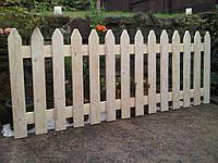 Деревянный  забор для дачи декоративный LNK, фото 1