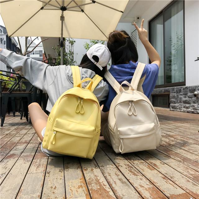 Школьный рюкзак из кожзама