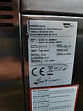 Wiesheu Dibas 64 blue M Конвекционная печь с утапливаемой дверью русский язык с функцией мойки   (7 противней), фото 6
