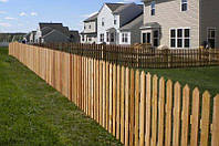 Деревянный  забор для дачи декоративный LNK 130см
