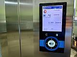 Wiesheu Dibas 64 blue M Конвекционная печь с утапливаемой дверью русский язык с функцией мойки   (7 противней), фото 8