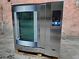 Wiesheu Dibas 64 blue M Конвекционная печь с утапливаемой дверью русский язык с функцией мойки   (7 противней), фото 2