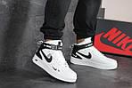 Мужские кроссовки Nike Air Force 1 (белые), фото 3