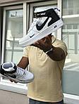 Мужские кроссовки Nike Air Force 1 (белые), фото 6