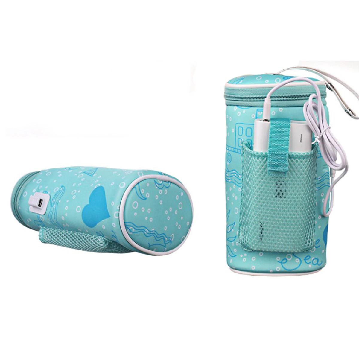 """Usb термо - грелка для детской бутылки для кормления ребенка """"Eco-obogrev bottle"""" с аккумулятором 2400мА"""