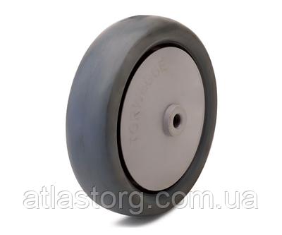 Колесо поліпропілен/термопластична резина, діаметр 100 мм, навантаження 90 кг