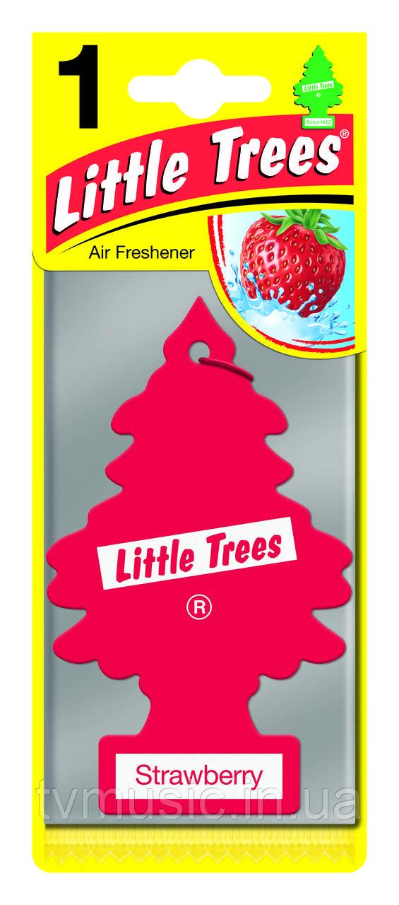 Ароматизатор в машину Little Trees Strawberry / Клубника