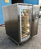 Печь хлебопекарная конвекционная утапливаемая дверь Wiesheu Dibas 64 б/у Германия 10 противней, фото 2