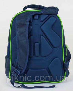 Рюкзак школьный ортопедический для мальчиков 1, 2, 3, 4 класс, портфель, ранец. Синий, фото 2