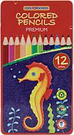 Кольорові олівці Premium, фото 1