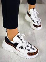 Женские кожаные кроссовки Step, фото 1