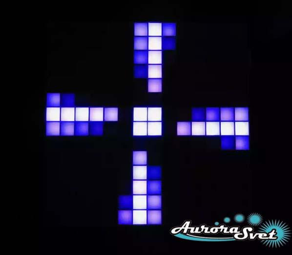 Светодиодная пиксельная панель напольная F-071-14*14-1-C