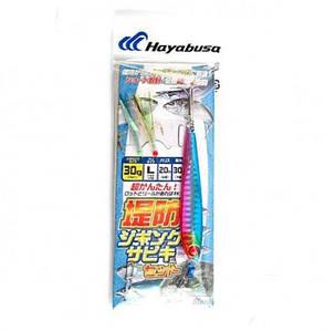 Оснащення морська Hayabusa з мушками і Пилкером 30g
