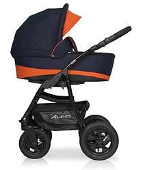 Детская коляска универсальная 2 в 1 Riko Basic Alfa 04 (Рико Альфа, Польша)