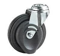 Колеса для травалатора 62 80 125 ШК-Т (твёрдый PU), диаметр 125 мм, нагрузка 110 кг