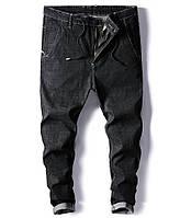 Стильные мужские джинсы сo шнурком