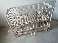 """Дитяче ліжечко """"Кузя-2"""" нелакованне"""