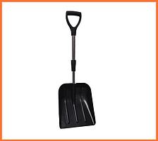 Автомобильная широкая лопата для снега (телескопическая)